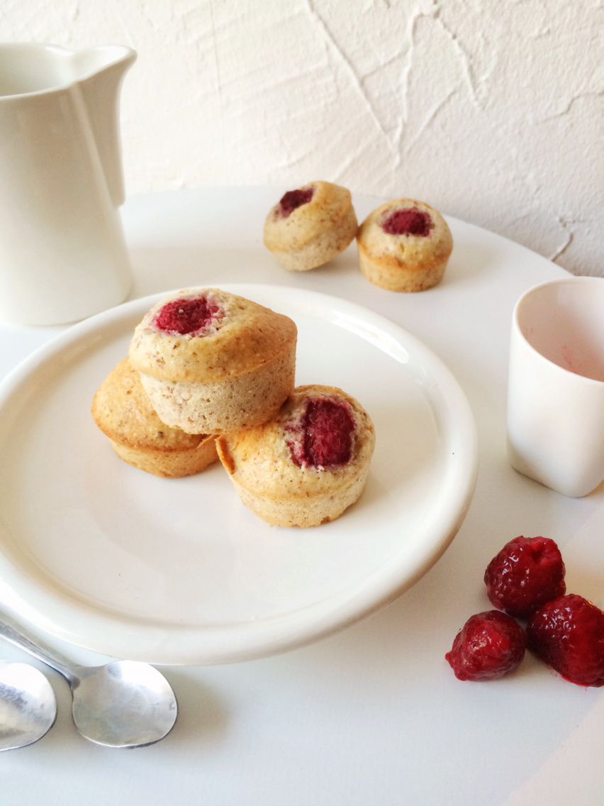 Financiers Noisettes Framboises