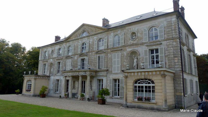 La façade du château construit au XVIIIème siècle