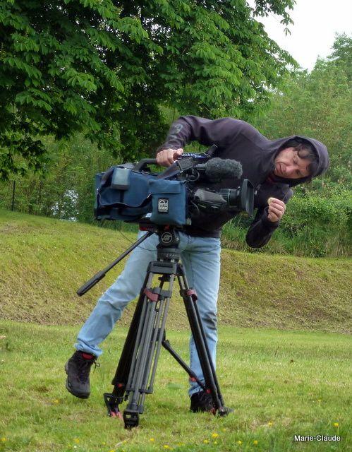 Un caméraman de TF à l'oeuvre...