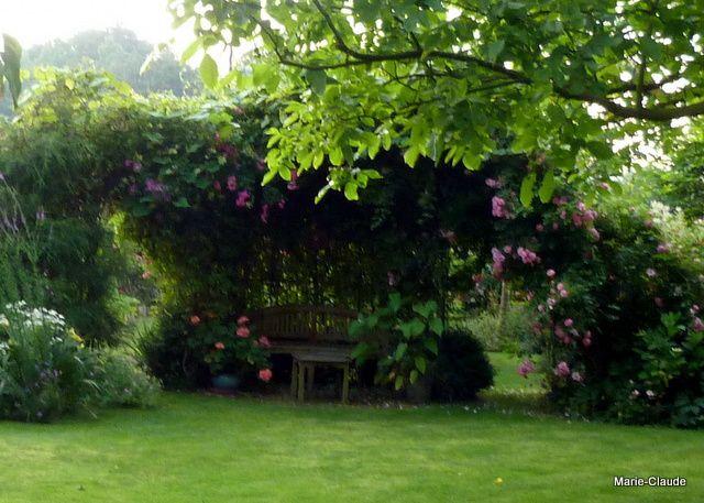 Photo prise cet été, un endroit plutôt romantique et cela j'aime ...