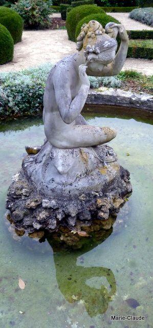 Le parc d'une gentilhommière en pays d'Oise,