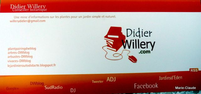 Rencontre avec Didier Willery,
