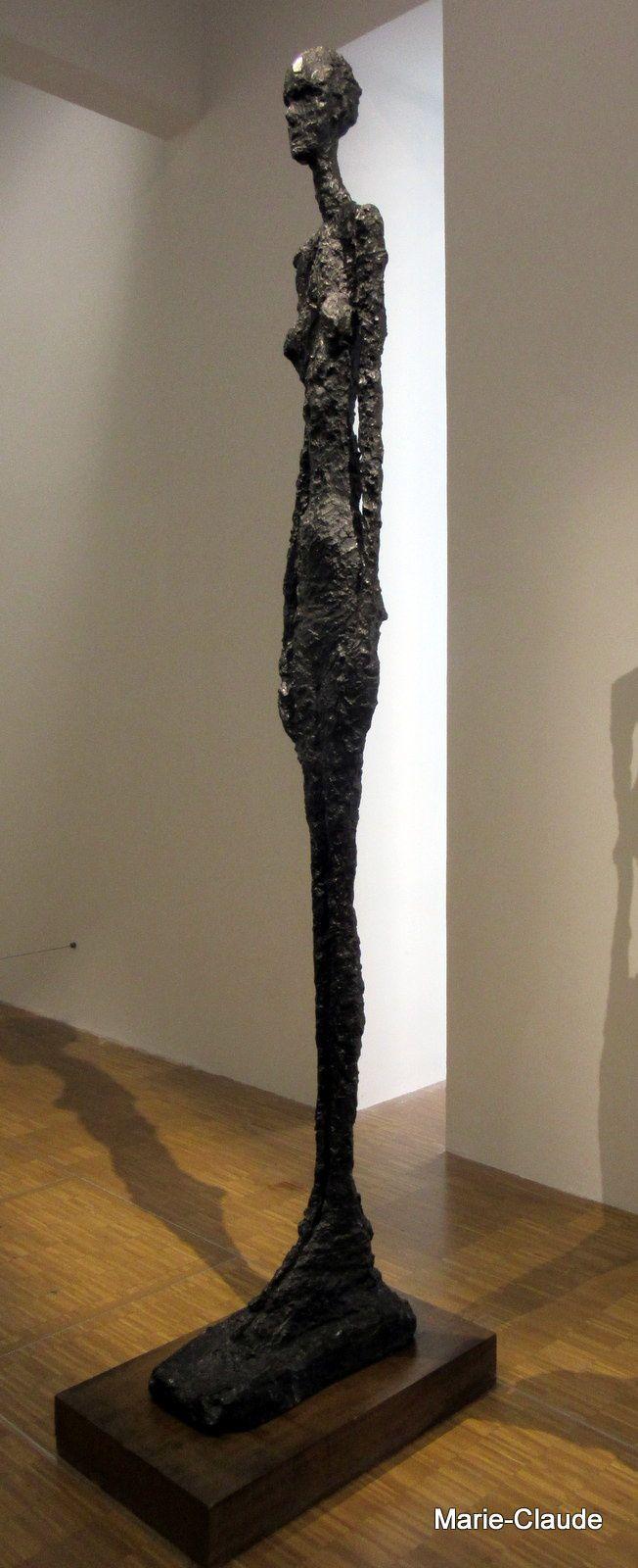 La femme debout de Giacometti