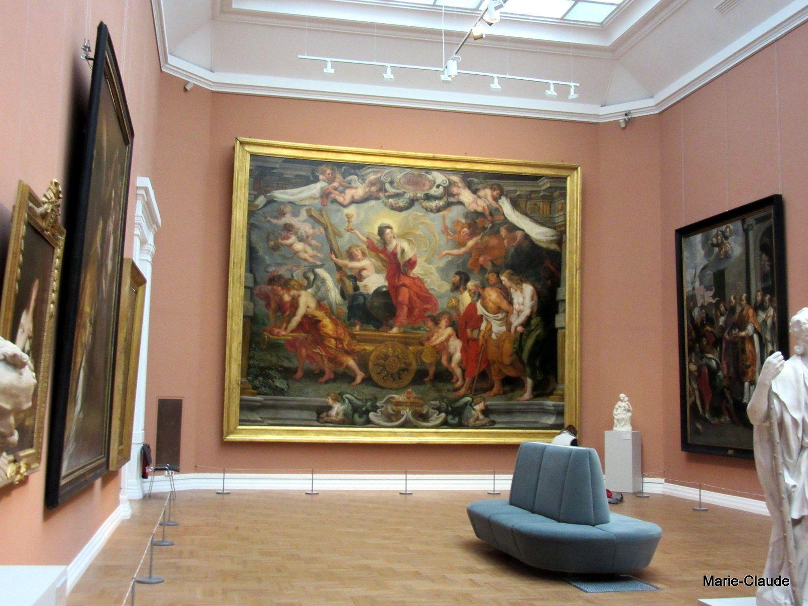 La salle Rubens, maître de la peinture flamande