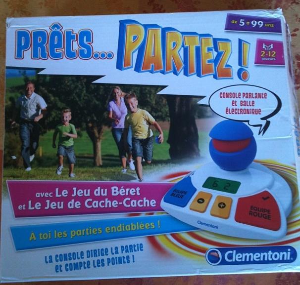 TEST du jeu Prêts… Partez ! de Clementoni + Concours