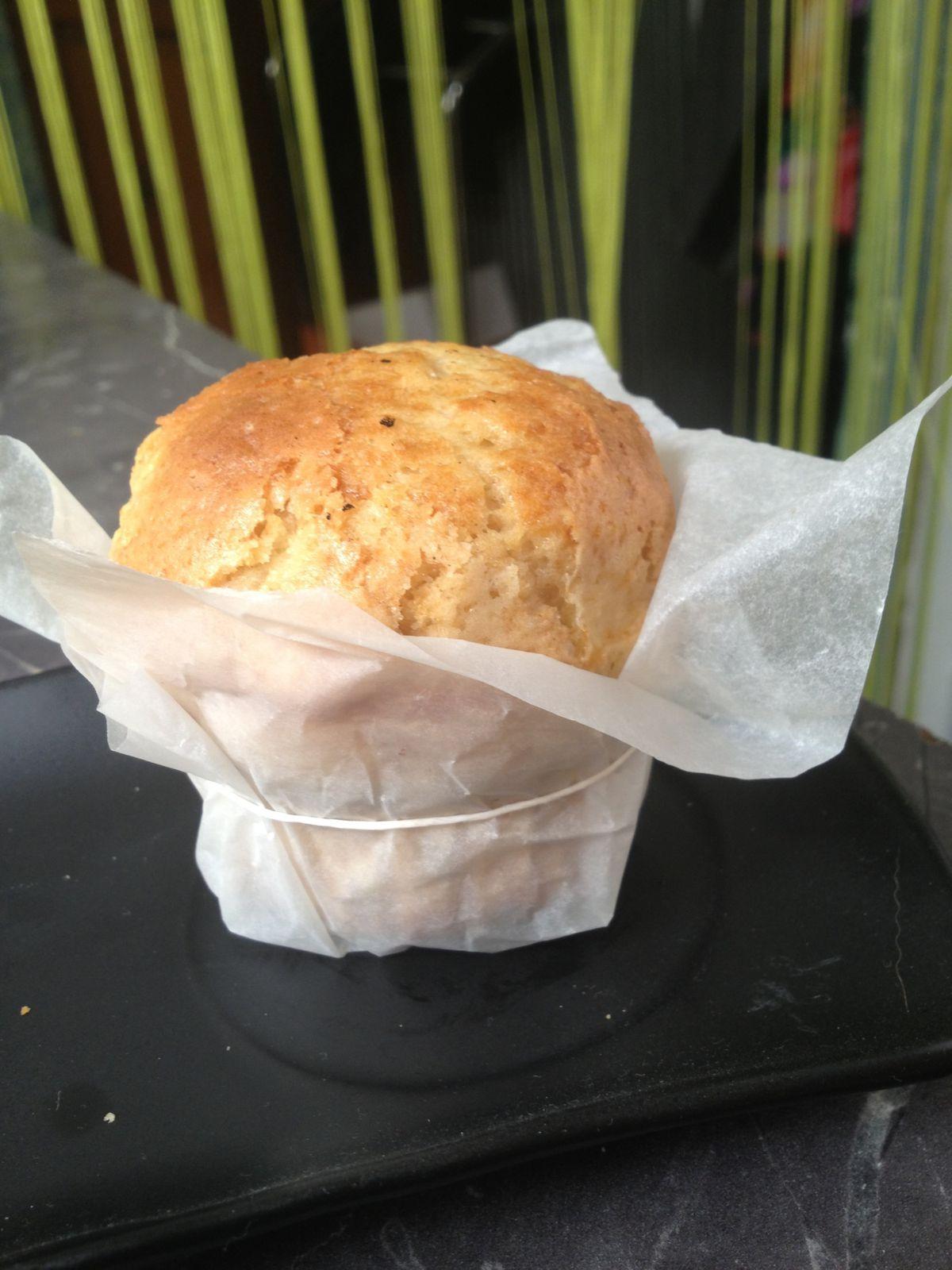 Muffins (qui gonflent BIEN) à la pomme