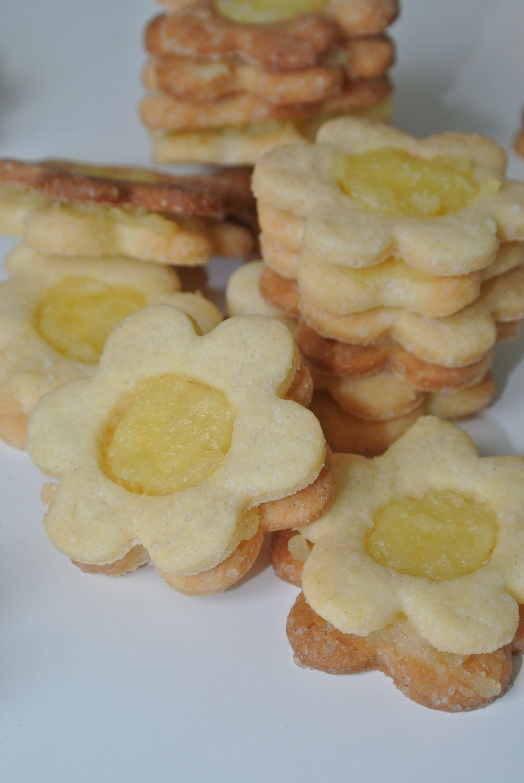 Biscuits au lemon curd