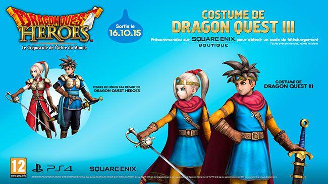 Dragon Quest Heroes : Date de sortie + Pre-commande