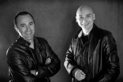 Daniel Vincensini et José Oliva - Parrain et Membre d'honneur