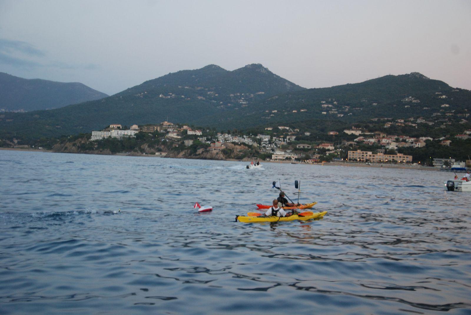 Ajaccio-Propriano en monopalme 43kms 12h00