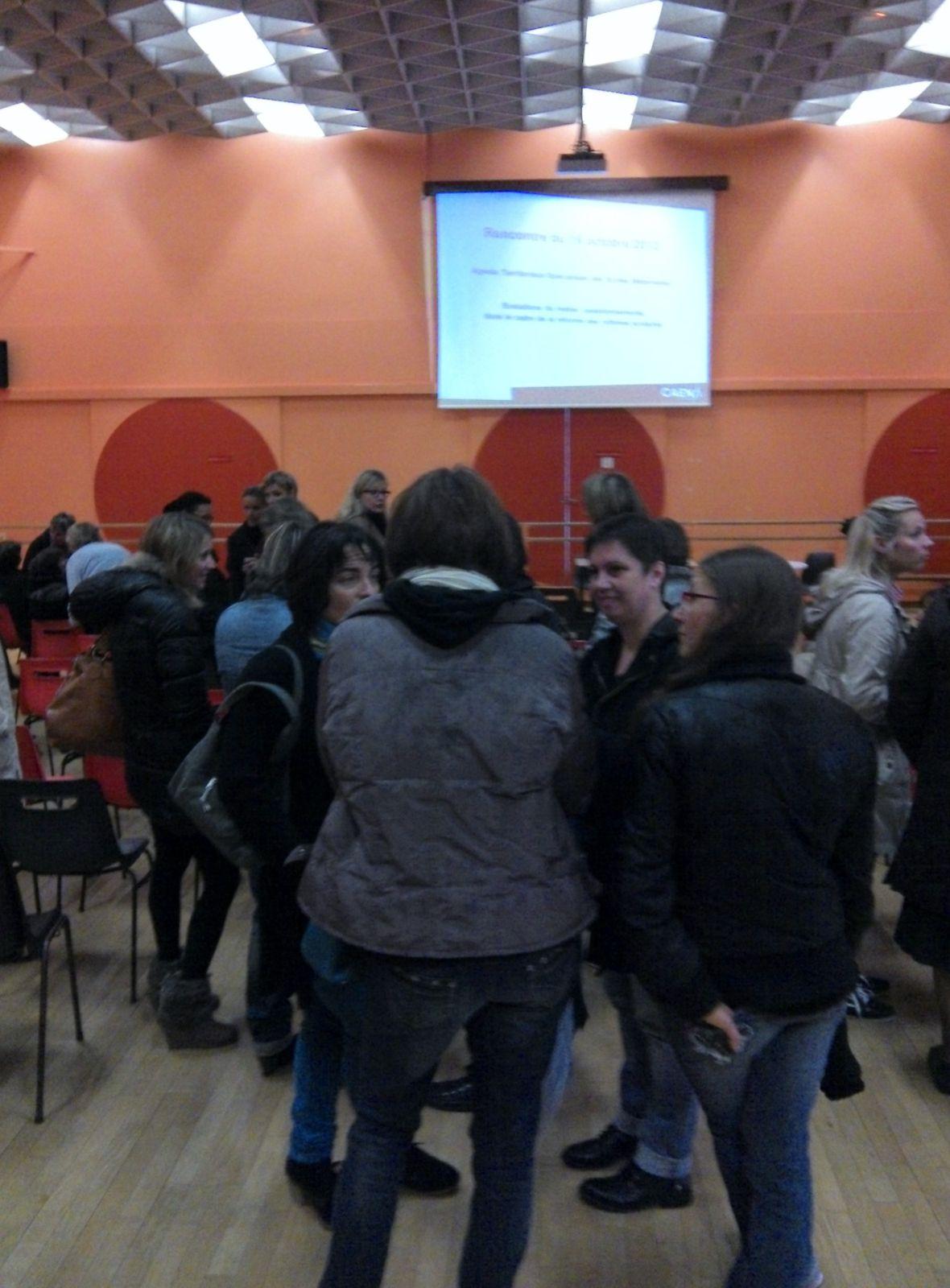 RENCONTRE DES ATSEM  AVEC LA DIRECTION DE L'EDUCATION