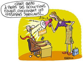 LES COTISATIONS SYNDICALES