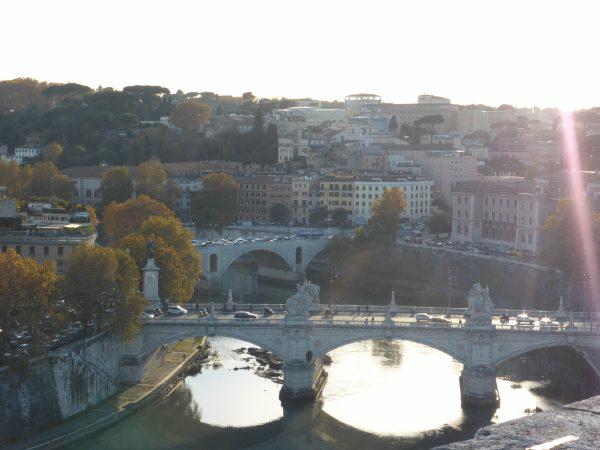 SARDAIGNE 14 Arrivee a Rome