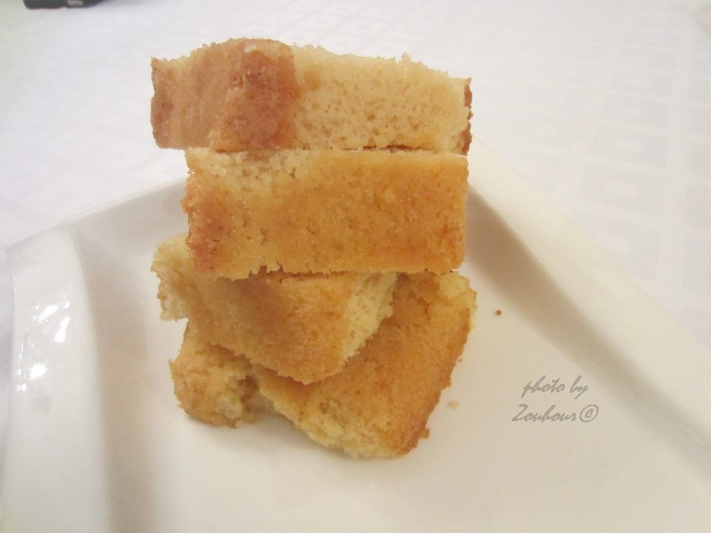 Cake au lait chaud (Hot milk cake)