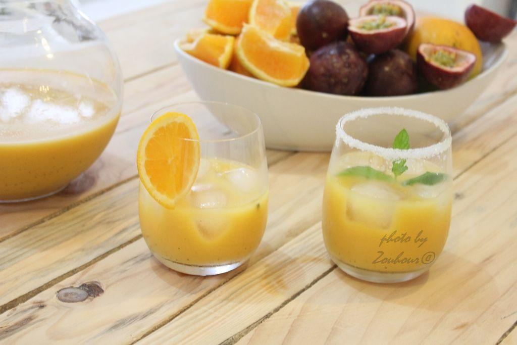 Jus Aux Fruits de la Passion et Orange