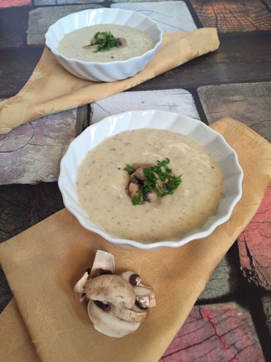 Soupe aux Champignons frais, Mushroom Soup