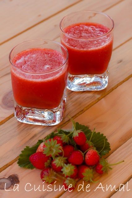 Jus de Fraise et Orange
