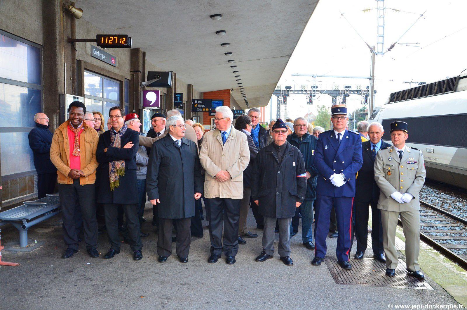 Aux morts de la SNCF - Dunkerque 2015