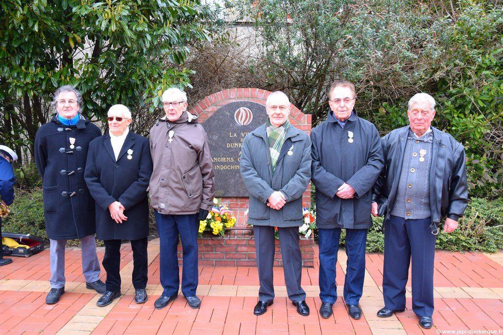 Journée Nationale à la Mémoire des Victimes de la Guerre d'Algérie et en Tunisie et Maroc Dunkerque 2016