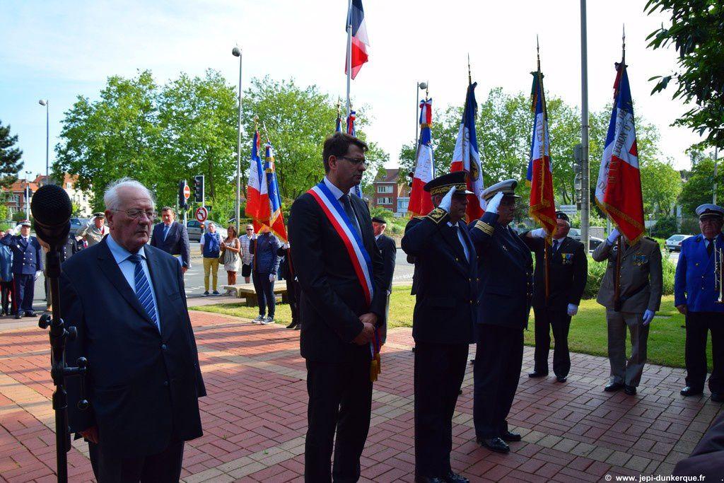 Journée Nationale d'Hommage aux Morts pour la France en Indochine - Dunkerque 2016