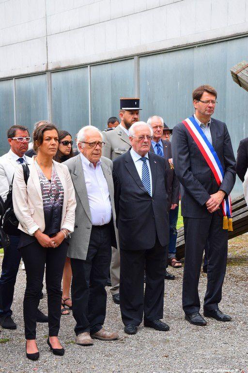 Journée nationale à la Mémoire des Victimes des Persécutions Racistes et Antisémites et d'hommage aux Justes de France-Dunkerque 2016