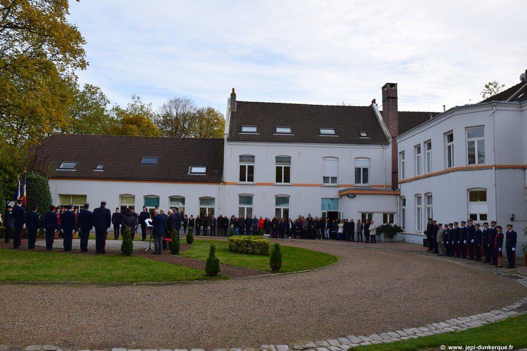 Cérémonie du 11 Novembre - Hôtel des Douanes - Dunkerque 2016 .