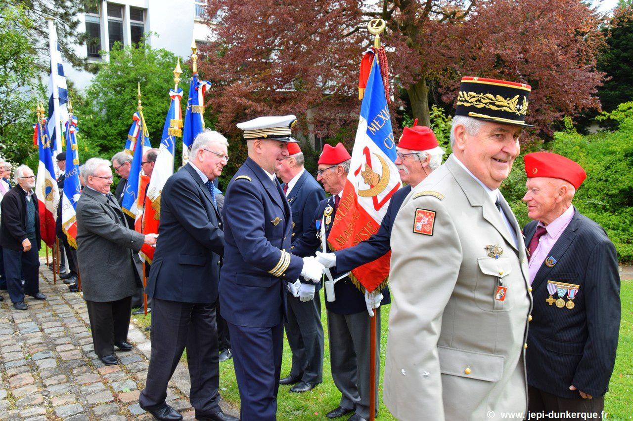 Journée Nationale du Souvenir des Victimes et Héros de la Déportation - Dunkerque 2017