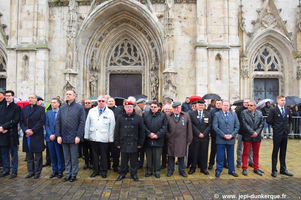 Cérémonie du 08 Mai 1945 - Dunkerque 2017