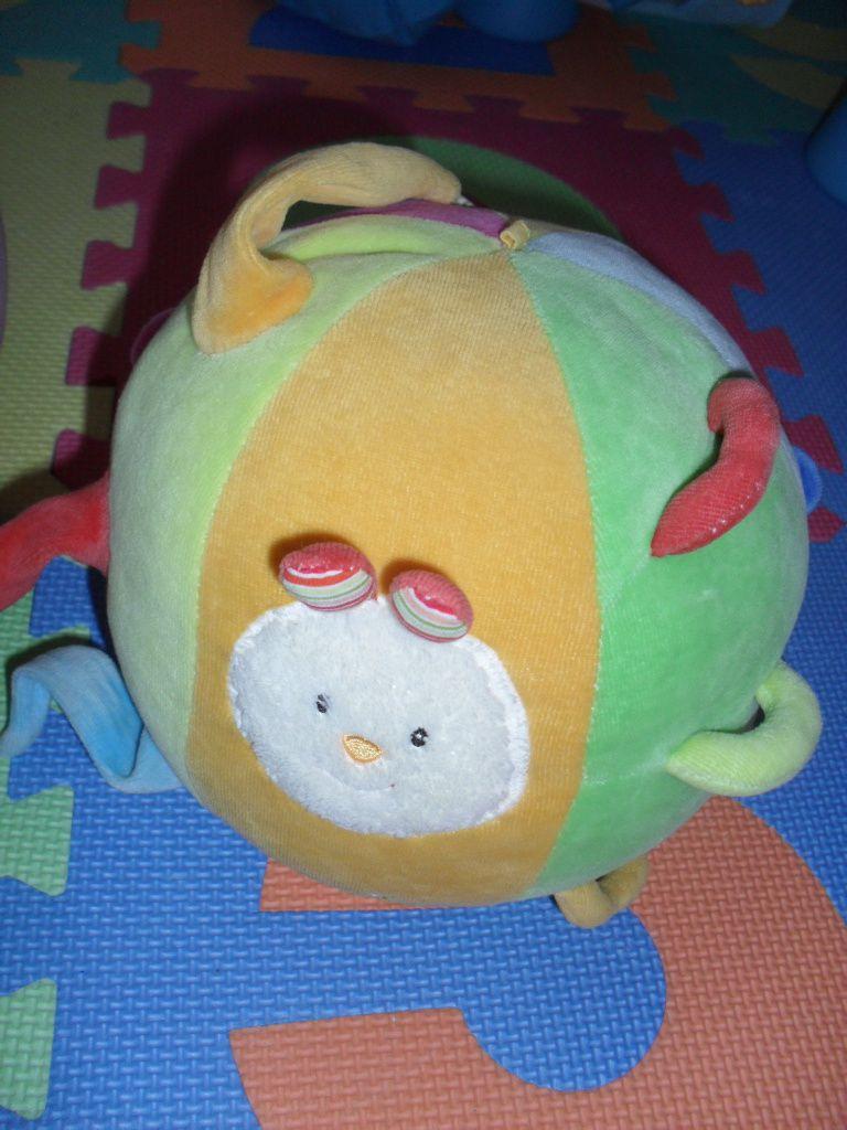 Quand Ptit doudou joue avec sa balle Babysun