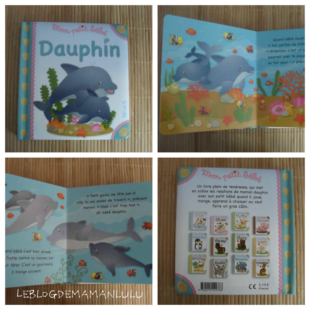 Douceur et Tendresse avec Le dauphin {#Chutlesenfantslisent}{#Test}{#Fleurus}