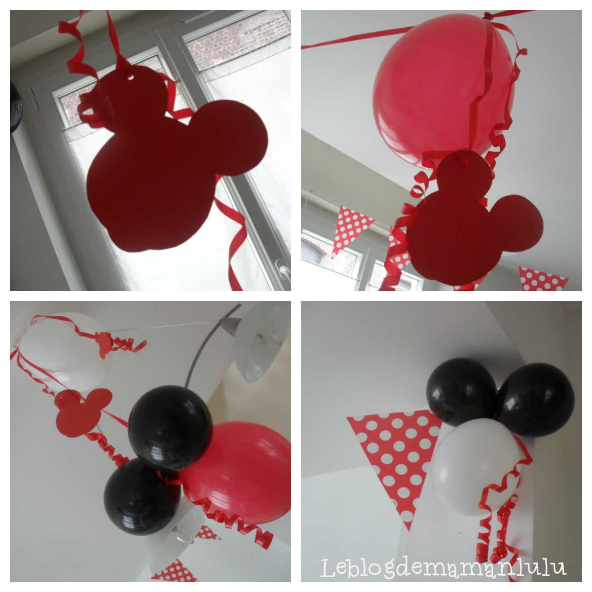 un anniversaire 100 mickey mickey anniversaire d co le blog de maman lulu. Black Bedroom Furniture Sets. Home Design Ideas