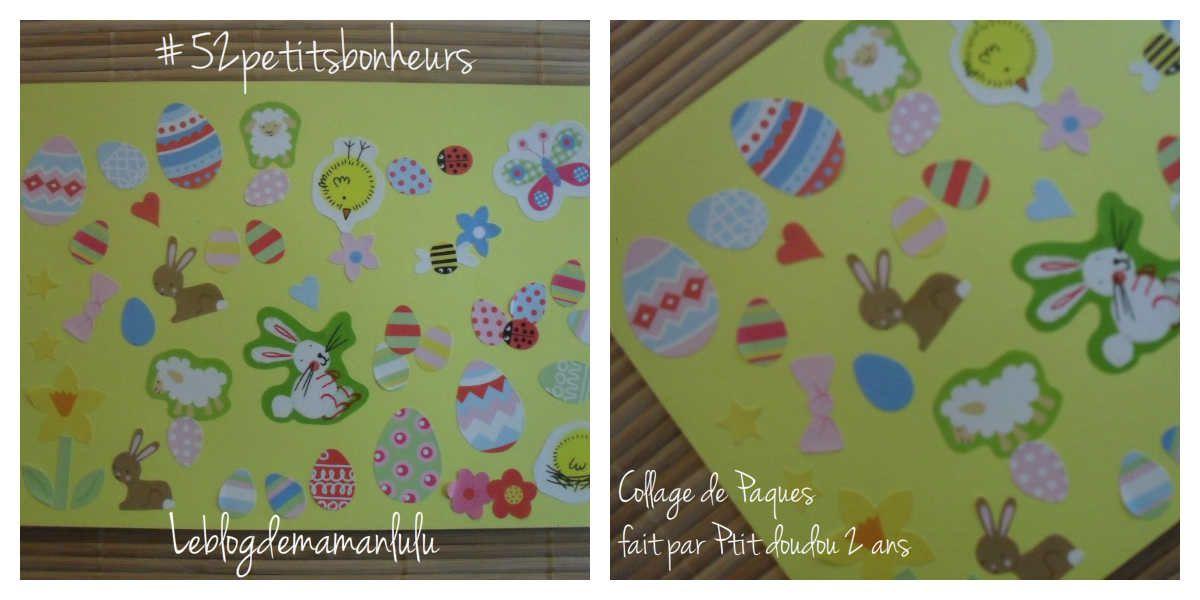 Un joli collage de Pâques {#52petitsbonheurs}{#Pâques}