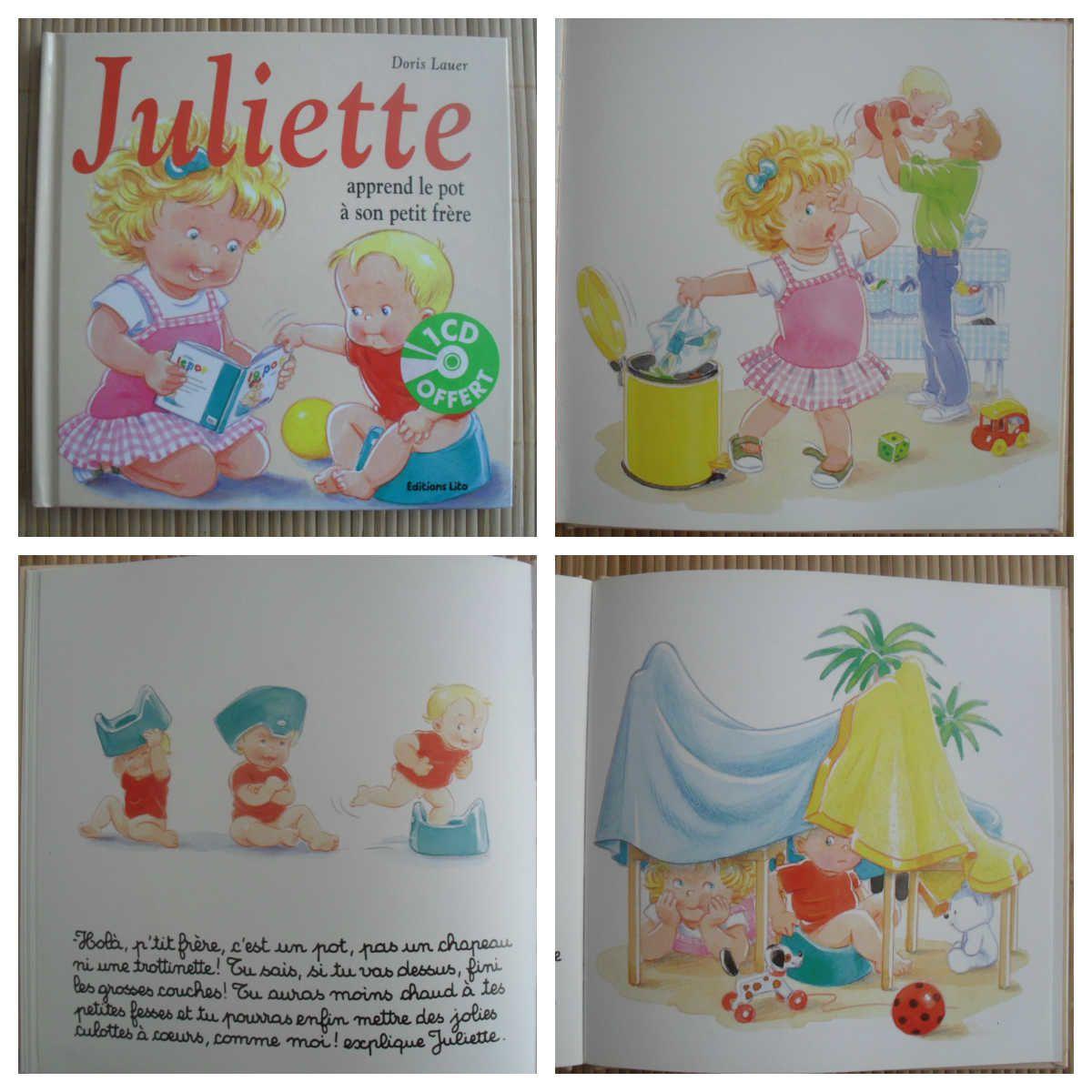Une belle collection pour les filles avec Juliette {#EditionsLito}{#Test}{#Juliette}