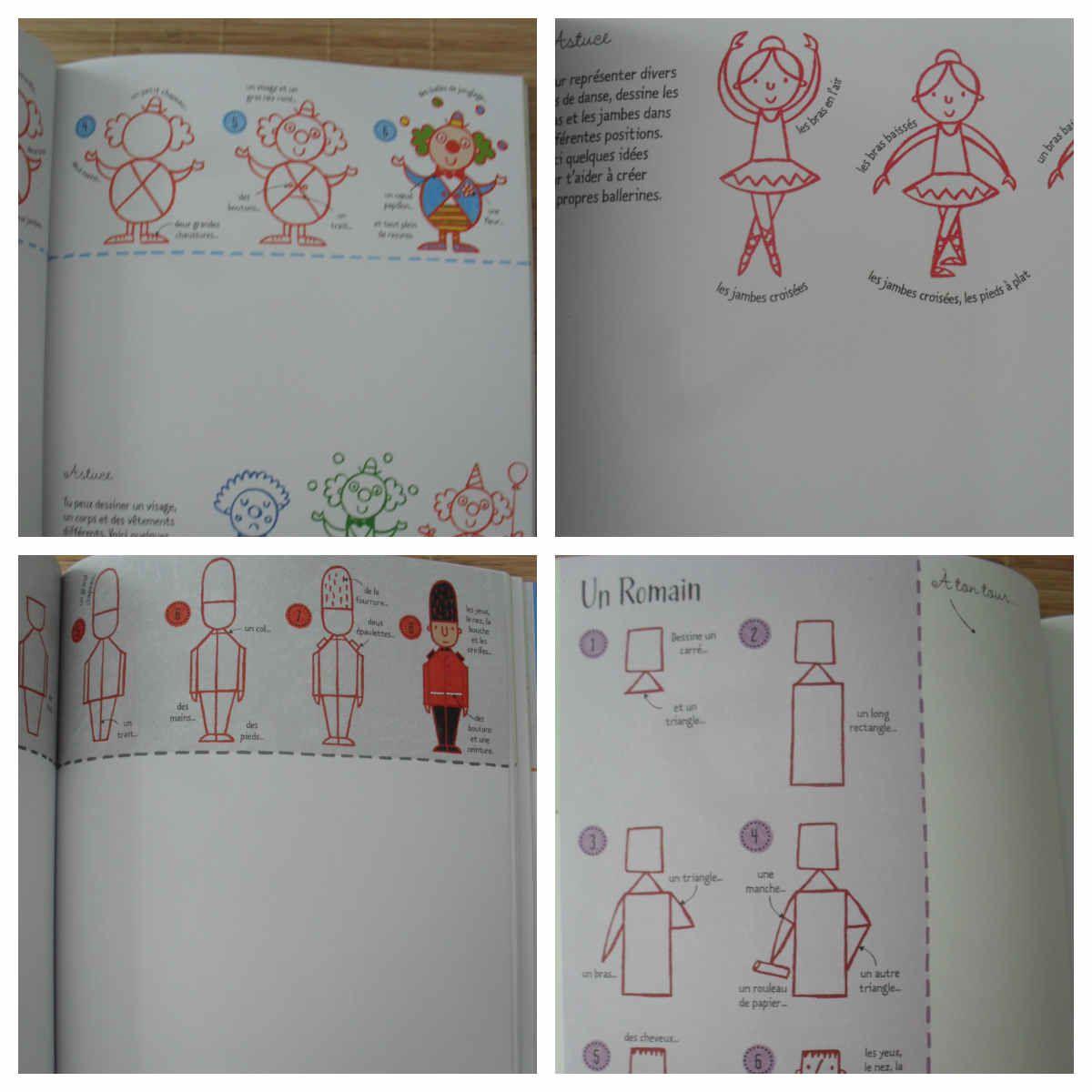 Je dessine pas à pas les animaux et les personnages des éditions Usborne {#Test}{#Usborne}{#Leblogdemamanlulu}