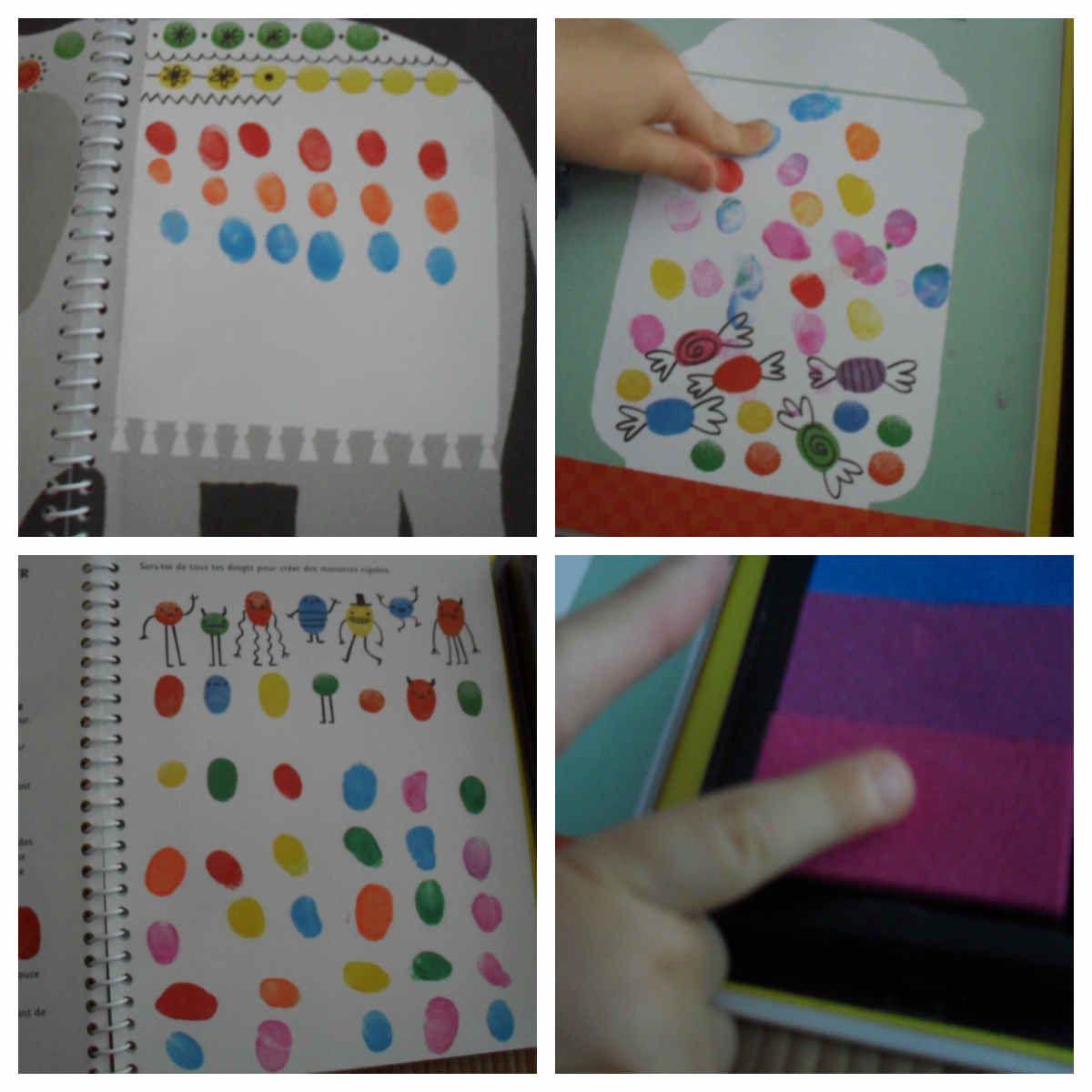 Dessine avec les doigts Editions Usborne {#Test}{#Usborne}{#DessinerAvecLesDoigts}