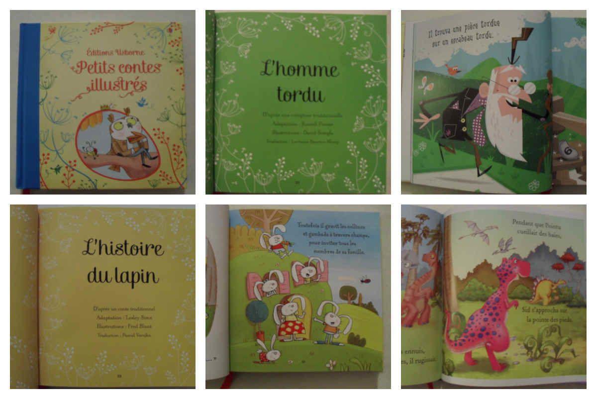 Petits contes illustrés des éditions Usborne {#Chutlesenfantlisent}{#Usborne}{#Leblogdemamanlulu}