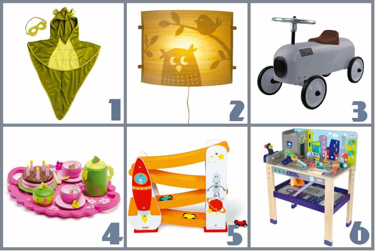 Ma selection de cadeaux Berceau Magique {#BerceauMagique}{#Djeco}{#Lilliputiens}{#Haba}{#Boikido}