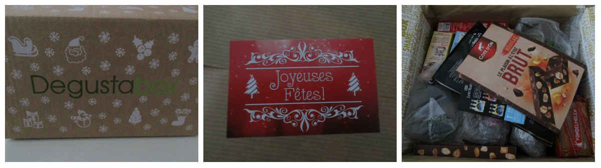 Découvre la Degustabox de Noël {#Box}{#Noel}{#Degustabox}{#Leblogdemamanlulu}