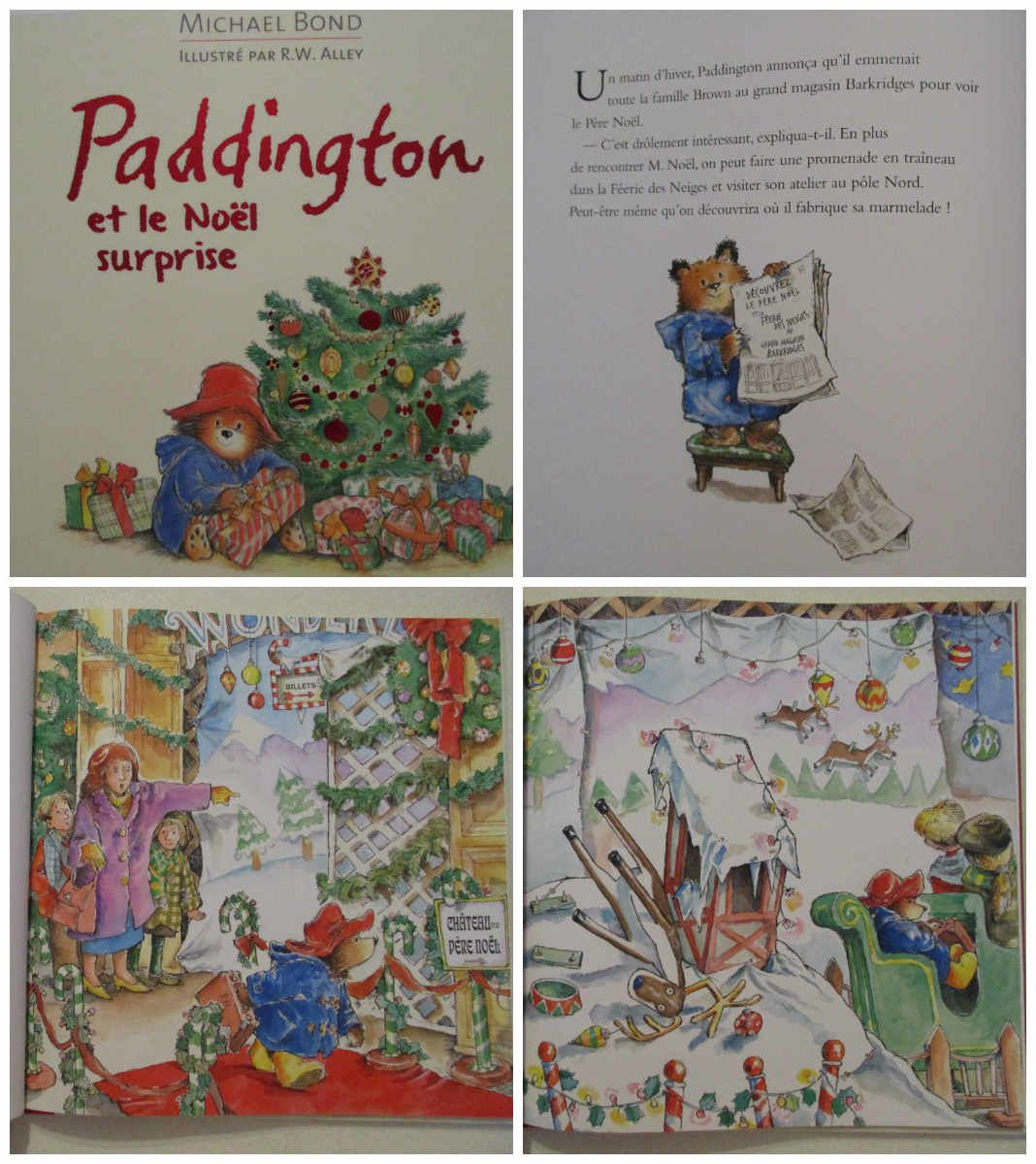 Paddington et les noël surprise {#EditionsMichelLafon}{#Paddington}{#Leblogdemamanlulu}{#Noel}