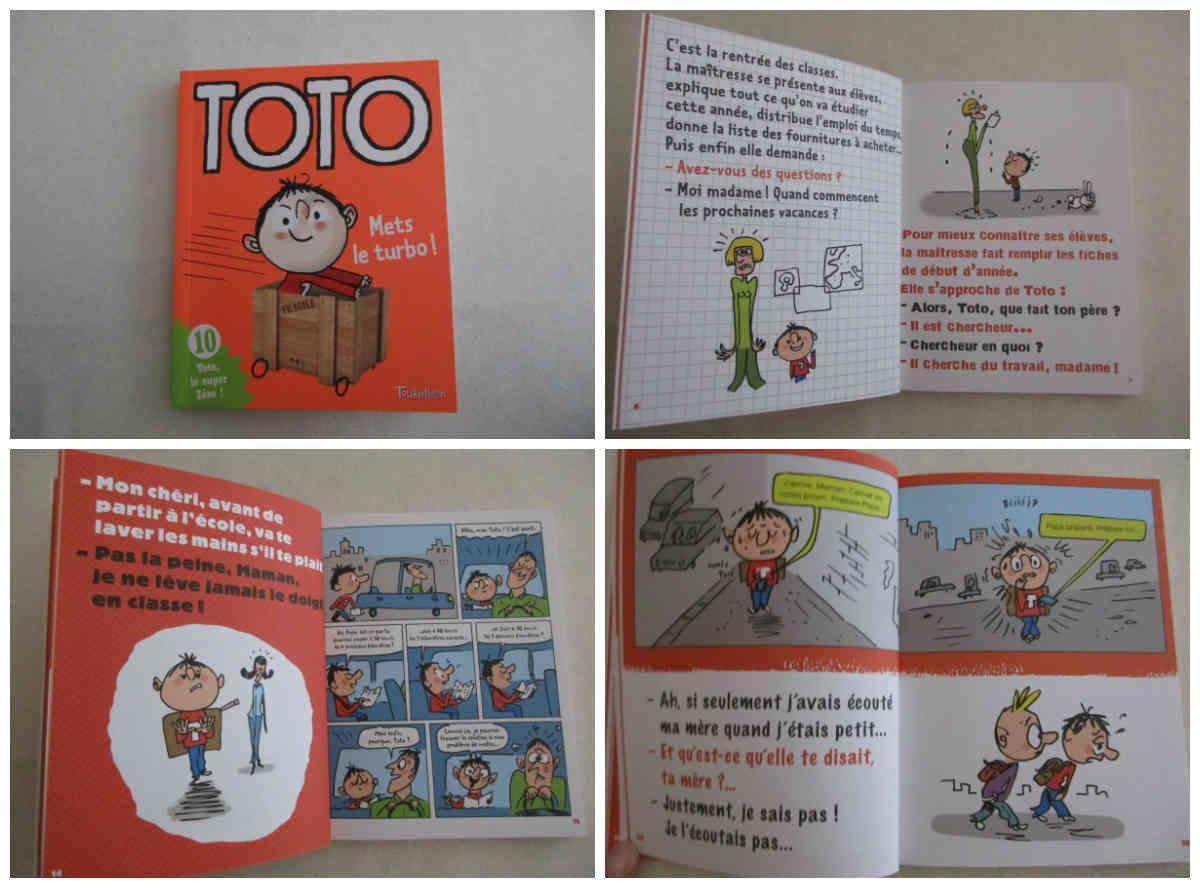 Toto mets le turbo des éditions Tourbillon {#Toto}{#EditionsTourbillon}{#Leblogdemamanlulu}{#Chutlesenfantslisent}