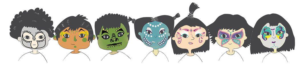 Namaki : du maquillage Bio pour nos enfants {#Bio}{#Namaki}{#DouxGood}{#Maquillage}{#leblogdemamanulul}