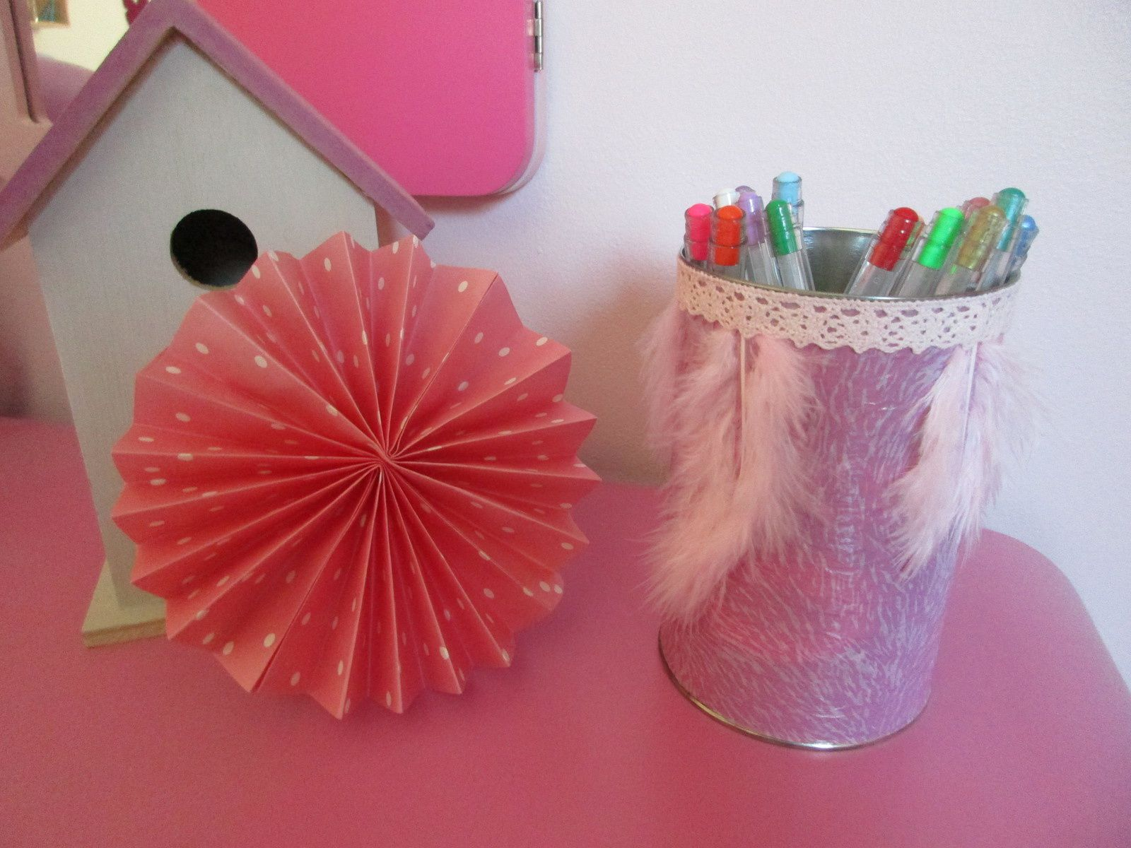 DIY pot à crayons Decopatch {#DIY}{#UHU}{#Decopatch}{#Leblogdemamanlulu}{#HomeMade}{#Faitmain}