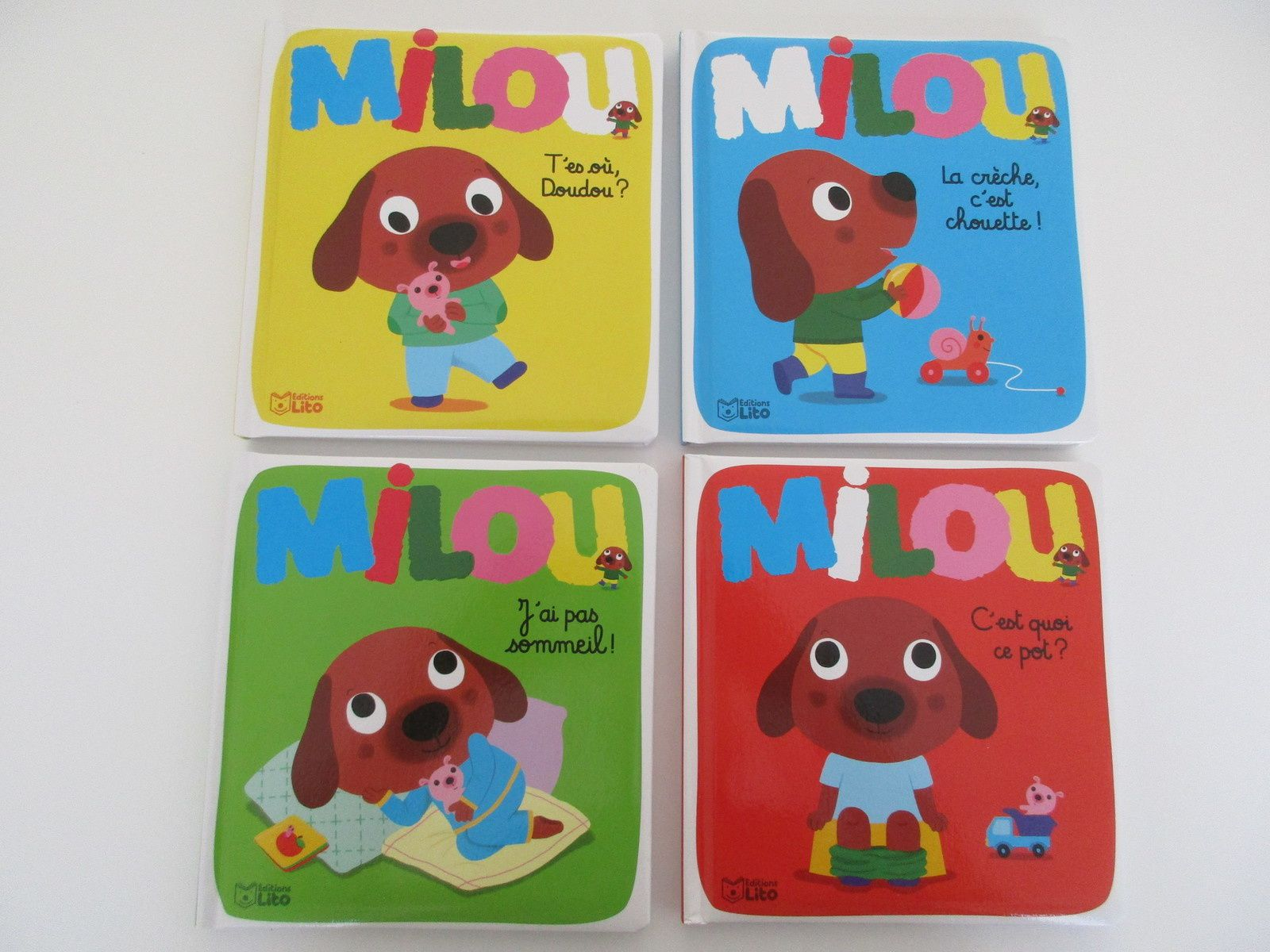 La collection Milou des éditions Lito {#Chutlesenfantlisent}{#EditionsLito}