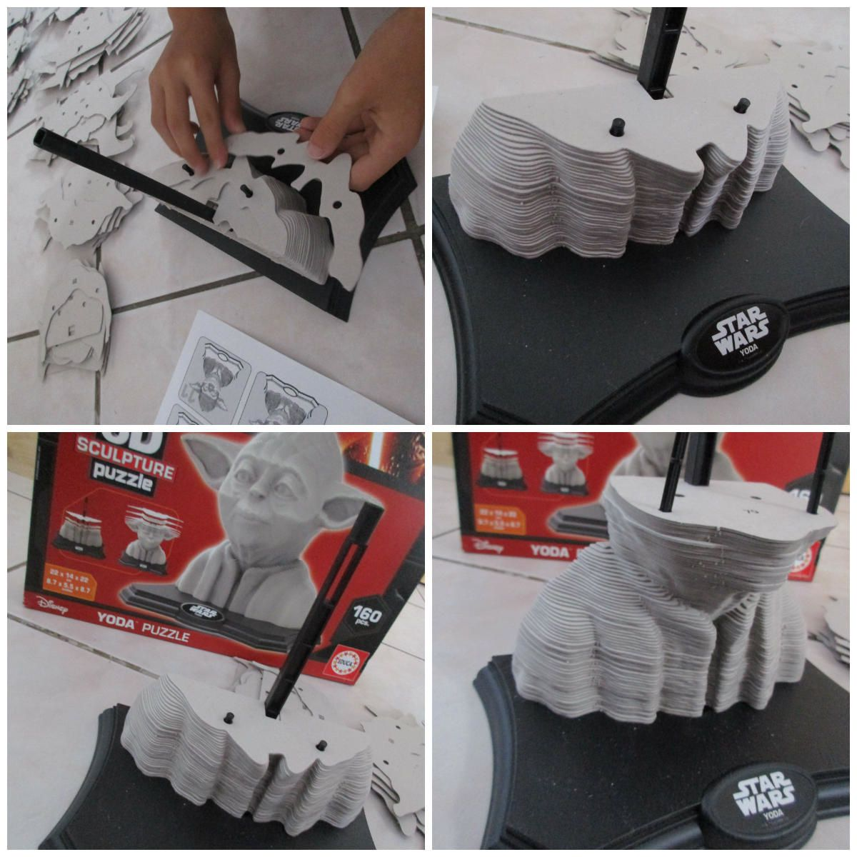 Les Puzzles 3D sculpture de Educa testé par Loulou {#Puzzle3D}{#Educa}{#Puzzle}{#StarWars}