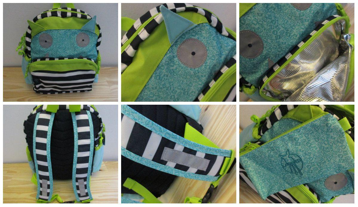 le Mini sac à dos Little monsters de Lässig testé par Ptit Doudou {#Lässig}{#Littlemonsters}{#SacAdos}{#Leblogdemamanlulu}