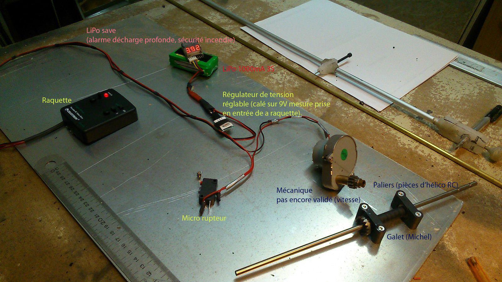 Construction d'une table équatoriale pour mon Strock