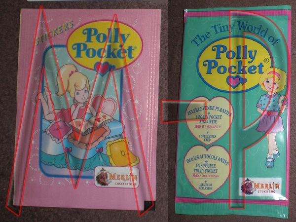 Stickers - Autocollant Polly Pocket