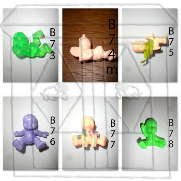 Babies 2€ - Mini Babies 1€ - Magic Babies 3€ - Paciocchini 3€