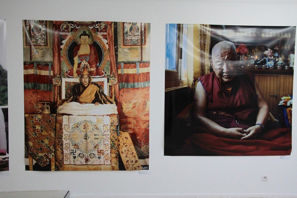 Paola Pivi, Tulkus 1880 to 2018, 2012. This is the oldest known photograph of a tulku. Dated 6 June 1873, it portrays Sidkyong Tulku, the eighth king of Sikkim, with Sir John Ware Edgar, Deputy Commissioner of the Darjeeling. Photo by Robert Phillips, courtesy of the British Library