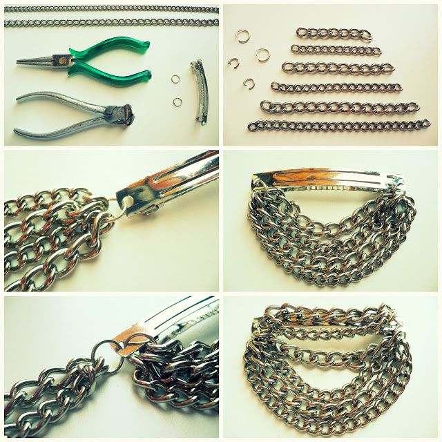 DIY collier, bracelet ( source Internet)